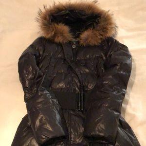 United colors of beneton long puffer coat